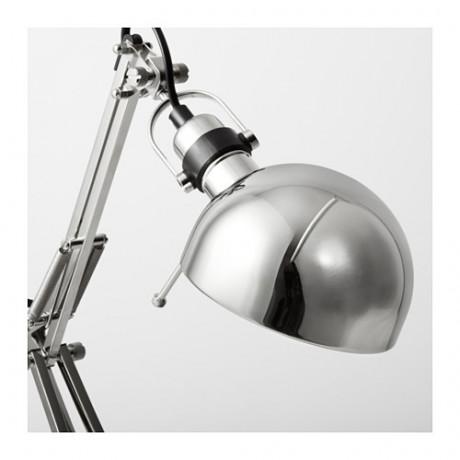 Лампа рабочая ФОРСО никелированный фото 1